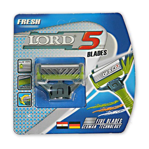 LORD 5 Blade borotva utántöltő betét